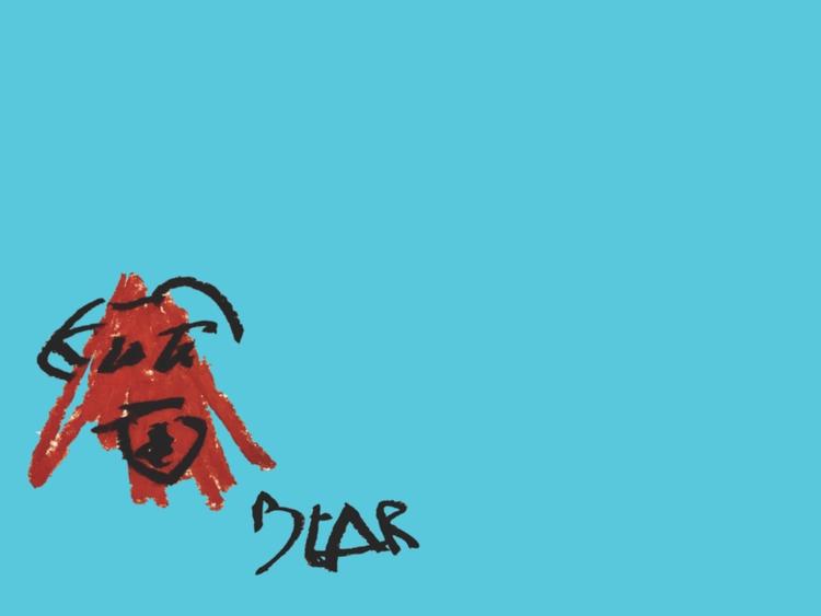 Bear (Blue - art, design, illustration - jkalamarz | ello
