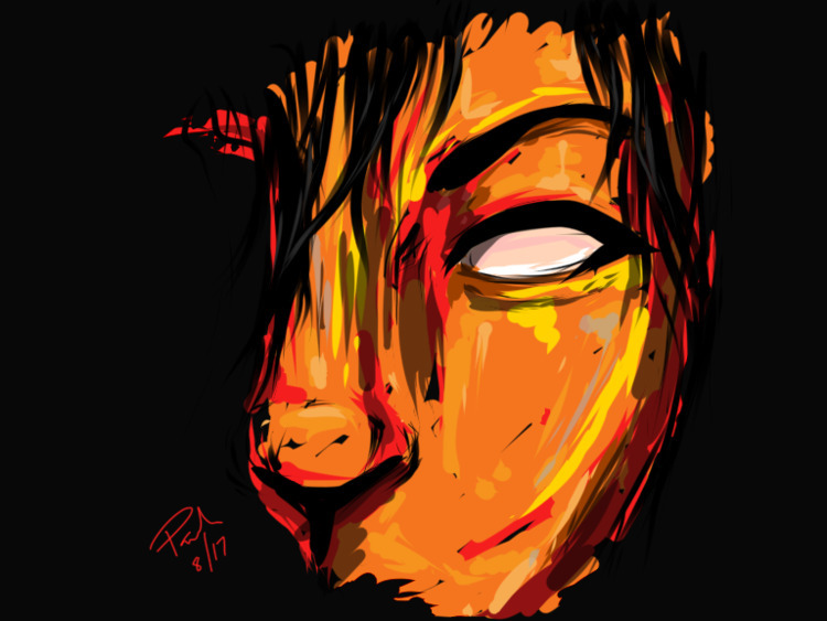 15 minutes drawing - ipad, artist - dcartist | ello