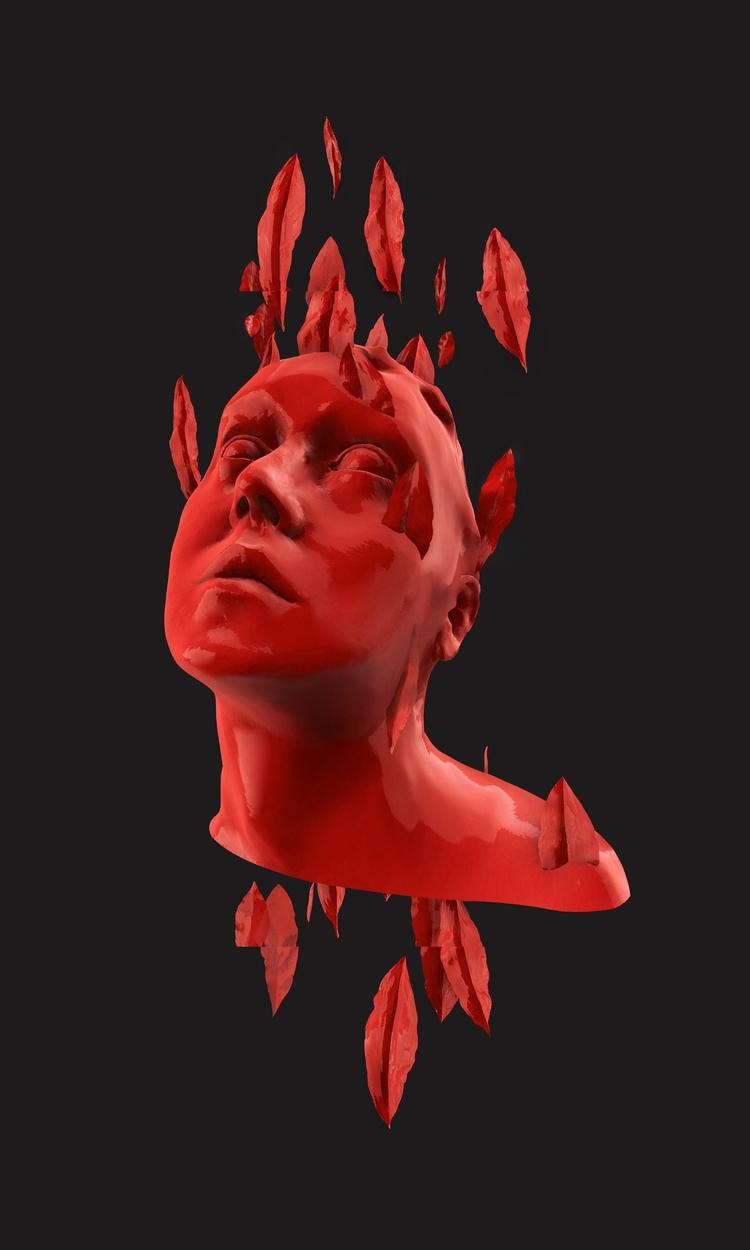 Häxan, 2017, Digital Sculpture - plasticyouth | ello