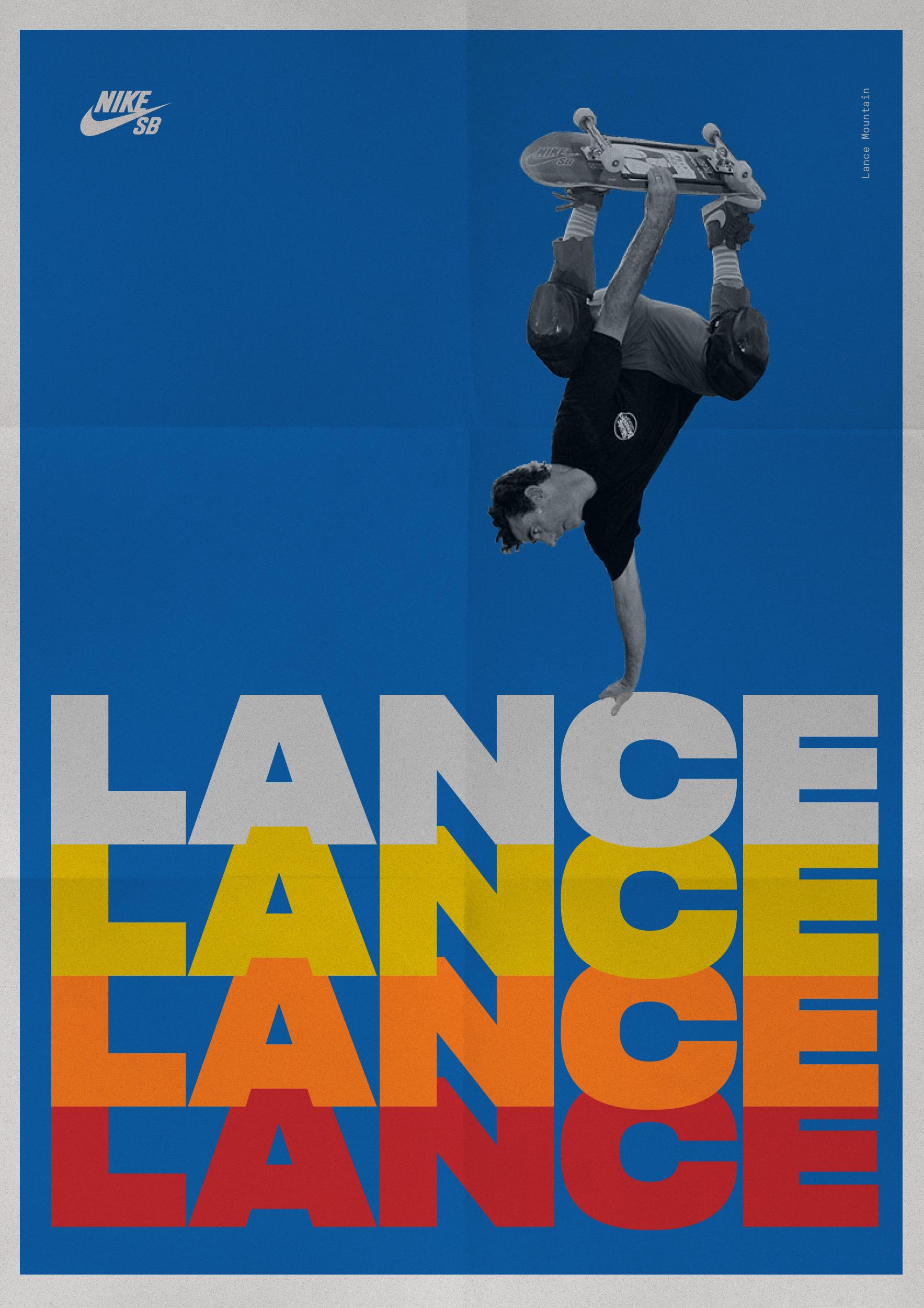 Lance Mountain. Nike SB - luiscoderque | ello
