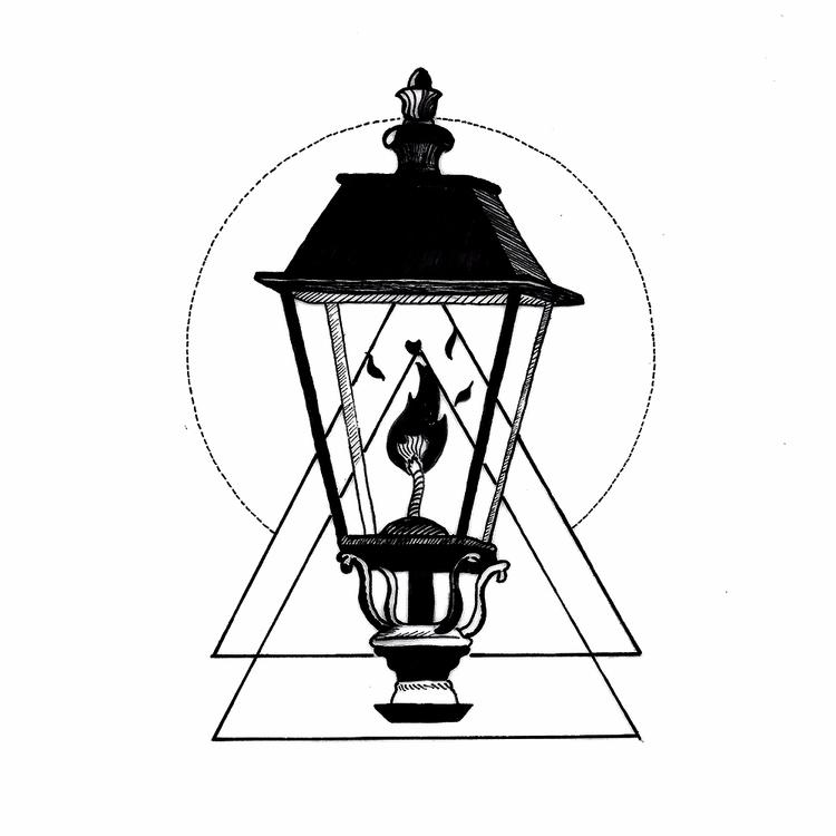 Lamp post - lamp, ink, tattoos, inked - rotserp | ello