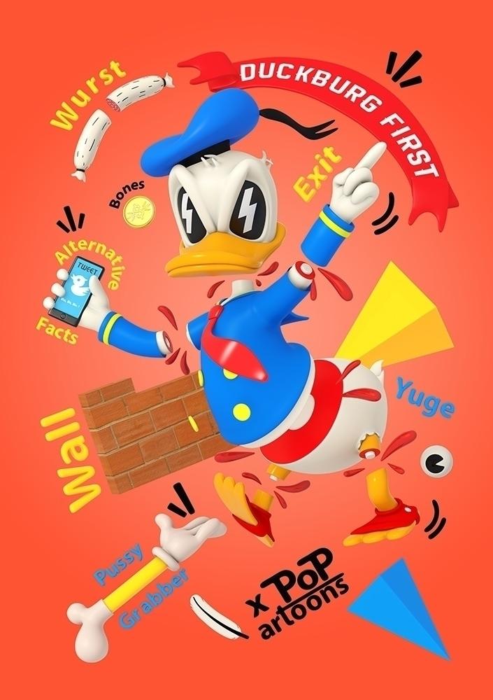 Duckburg Tales - characterdesign - theodoru | ello