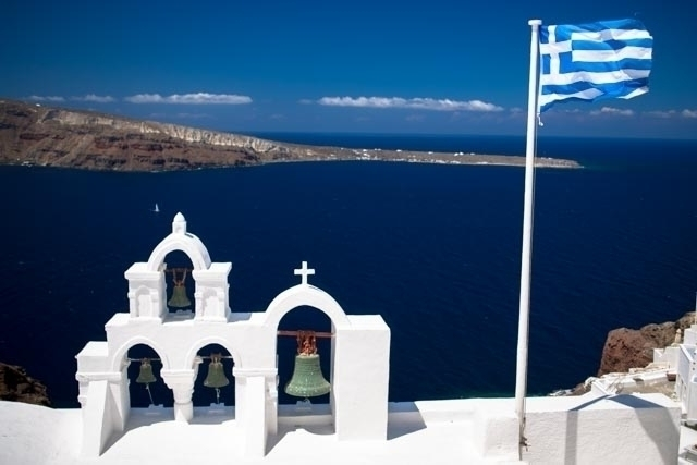 Blue Santorini, GR peligro pict - peligropictures | ello