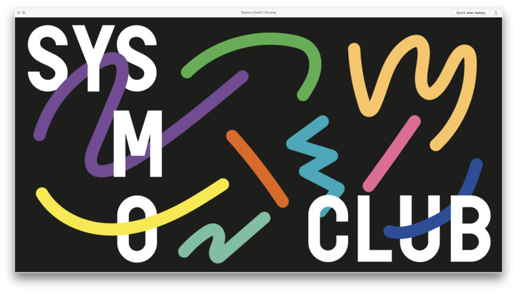 working sysmo club identity - timcolmant | ello