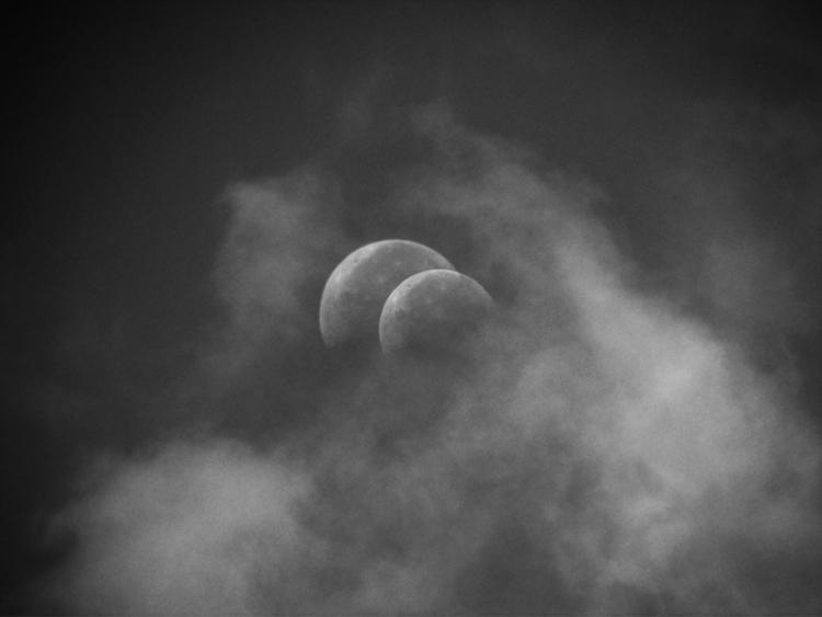 warm eclipse Monday. PDX 99.4%  - tehranchik | ello