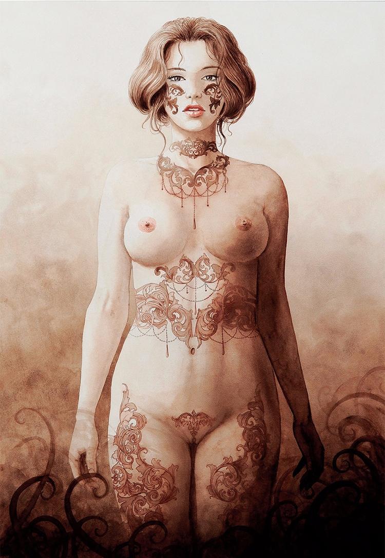 """Volutes Tueuses"" — Illustrator - darkbeautymag   ello"