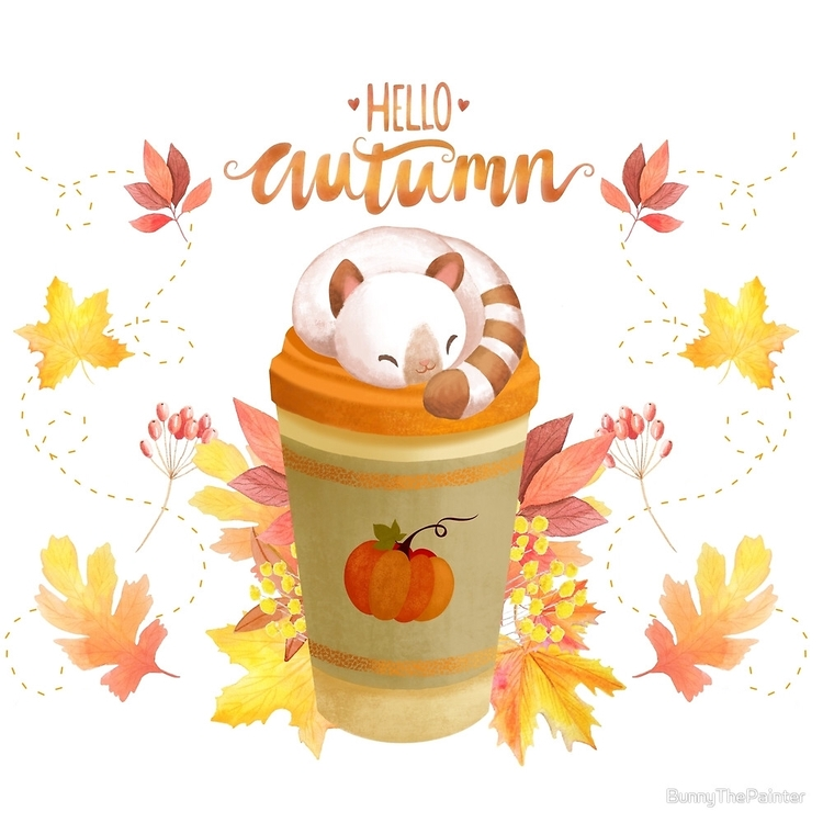 Autumn wonderful, cozy, crisp c - littlebunnysunshine | ello