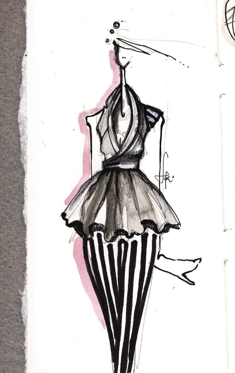 fashion sketches <3 - naita | ello