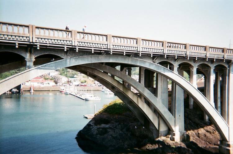 harbor bridge. august 2017 - fujifilm - unhannahm | ello
