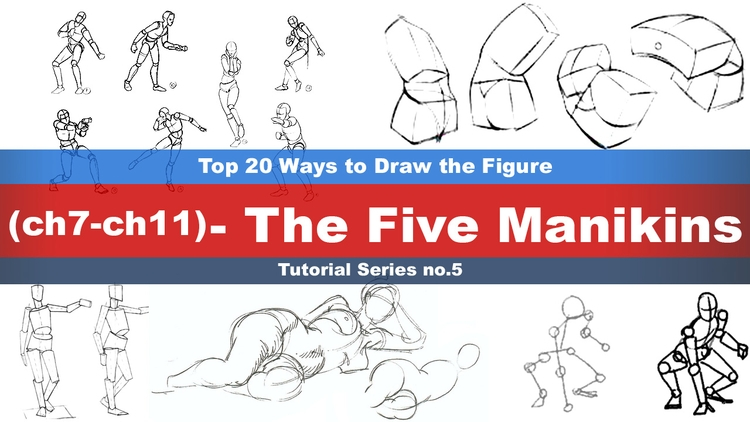 Top 20 Ways Draw Figure (7,8,9 - rain_walker | ello