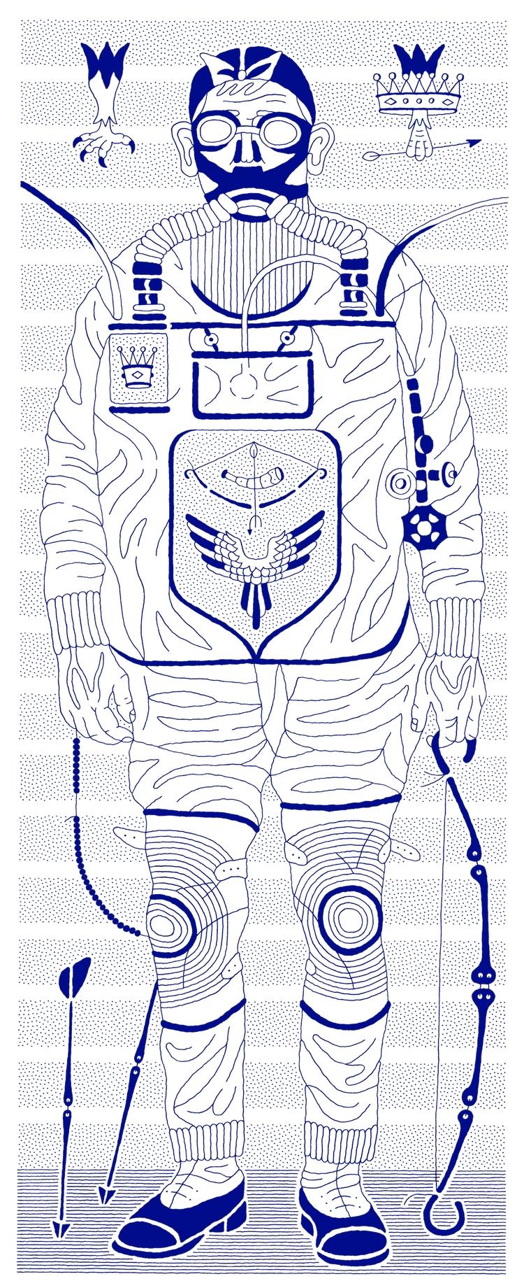 Mining Archer 2009, ink paper,  - racc | ello