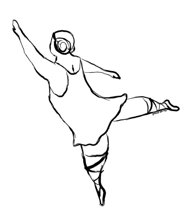 dancer sarrah kaliski - design, illustration - sckaliski   ello