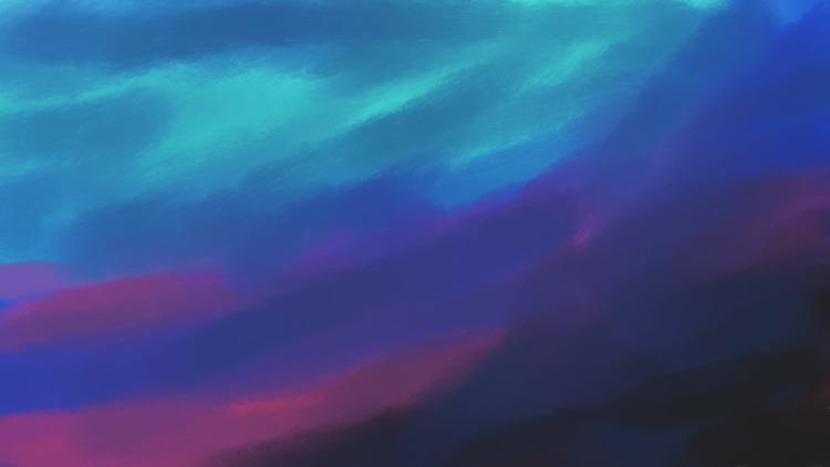 Cloudy Morning - art, color, morning - dannyami | ello