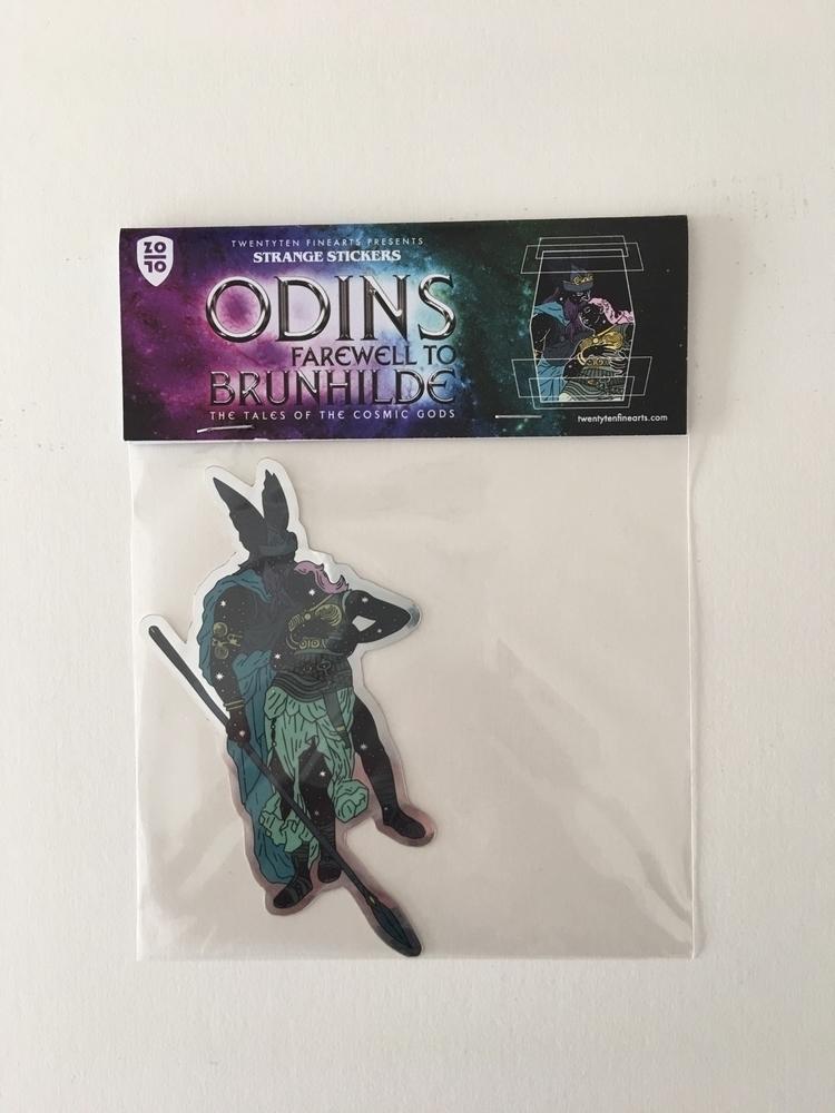 Odins farewell Brunhilde - sticker - alexanderfechner | ello