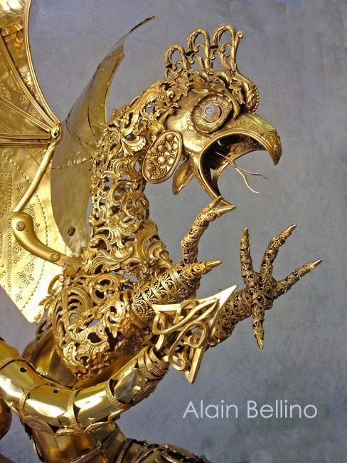 Basilic . 2011. 110cm high. Gil - alain-bellino | ello
