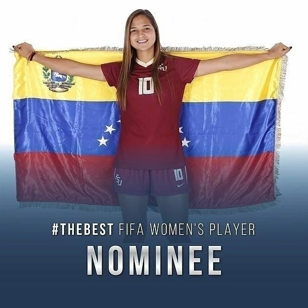 FIFA Women'secret playera nomin - juancpulidom | ello