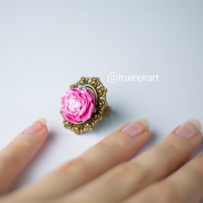 gentle rose ring shop: truenoir - truenoir | ello
