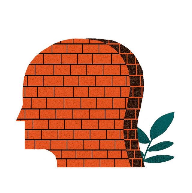 Mental Block - mikedriver   ello