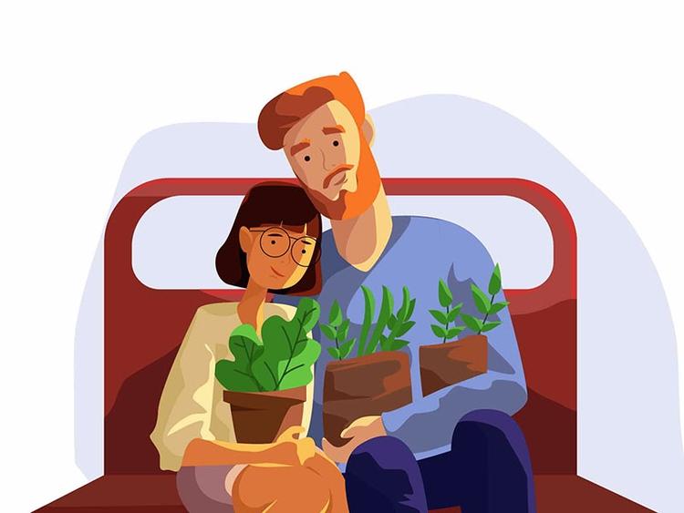 Happiness love - Renderforest, animation - renderforest | ello