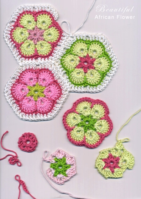 Learn African crochet flowers f - carlabreda | ello