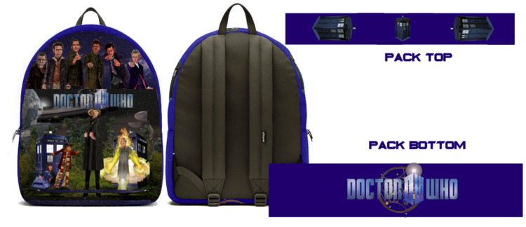 Introducing Doctor backpack, or - mjartscom | ello