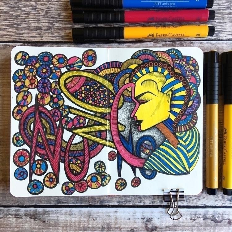 Moleskine doodle - moleskine, sketchbook - lorriewhittington | ello