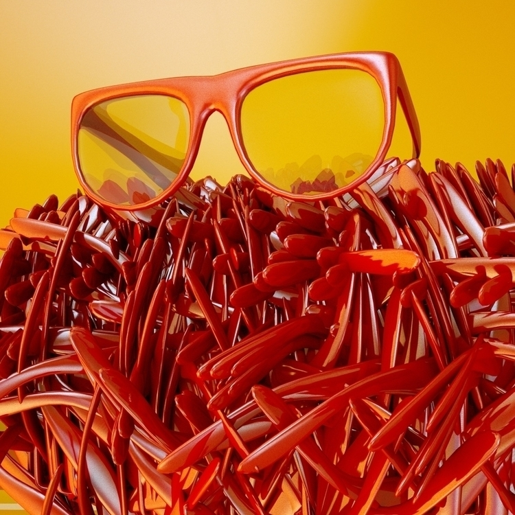 glasses - cinema4d, c4d, 3d, cgi - imhybrid | ello
