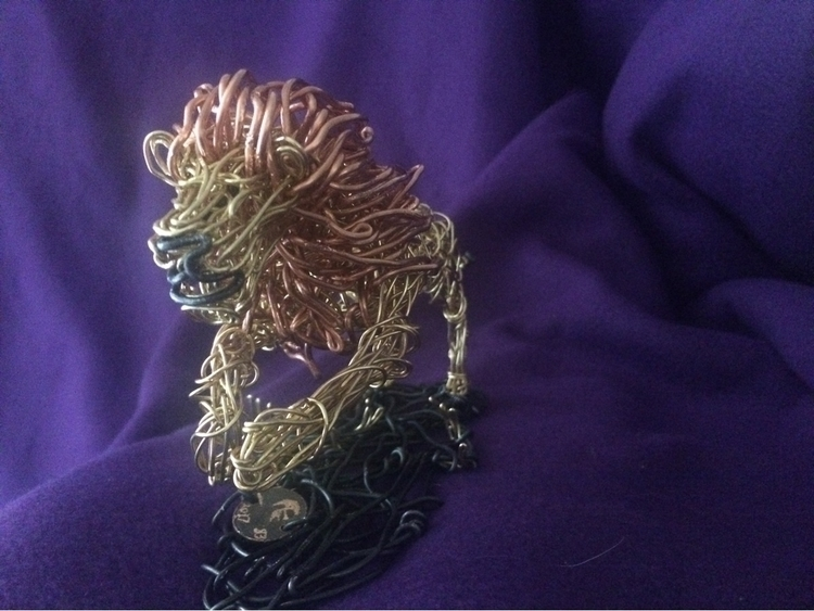 lion copper, red brass black st - jwilliams575 | ello
