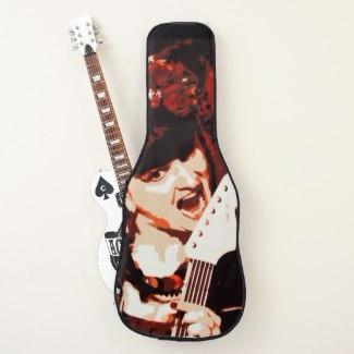 guitar case Rockstar created cg - cglightningart | ello