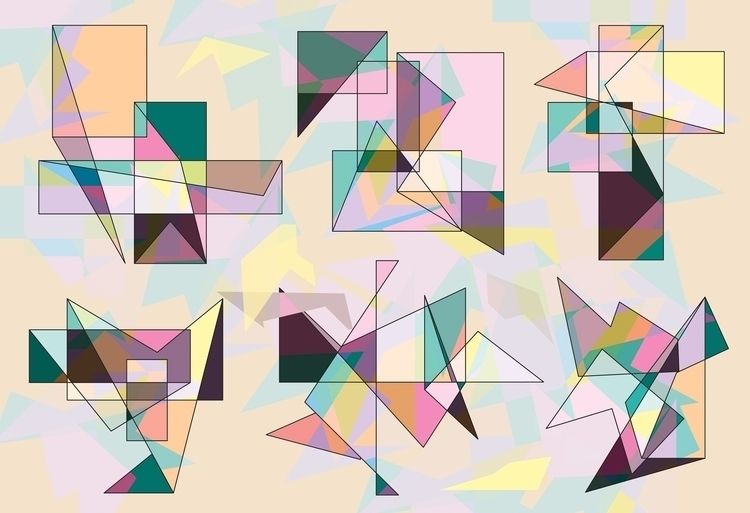 GEOMETRY FLOW - comma_art | ello