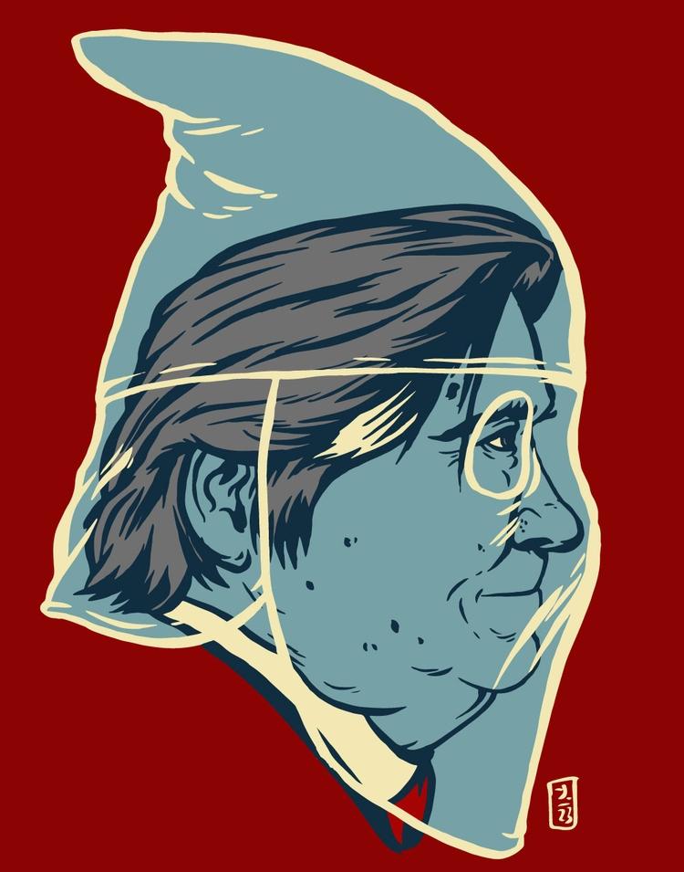 Invisible Hoods - illustration - thomcat23 | ello