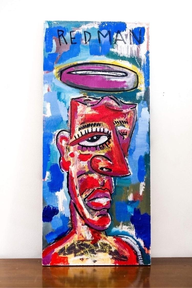 Redman 12 24 acrylic oil stick  - poptribeninjas | ello