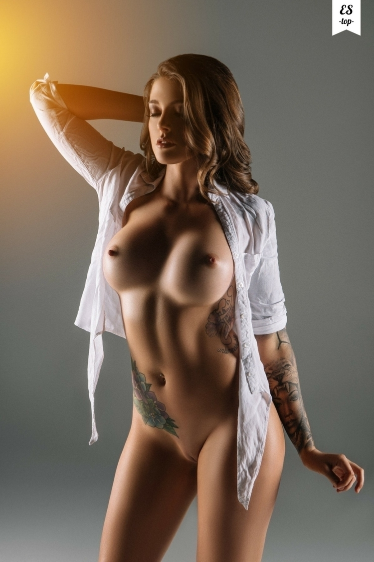 tattoo, nude, bigboobs, boobs - blue-light | ello