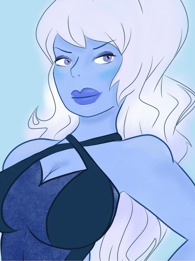 Blue favorite color - hollyblue - javieraklenner | ello