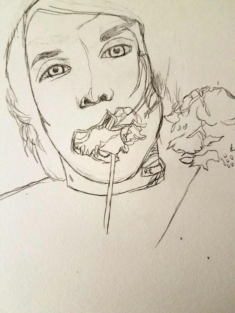wip - flowers, illustration, art - andaelentari   ello