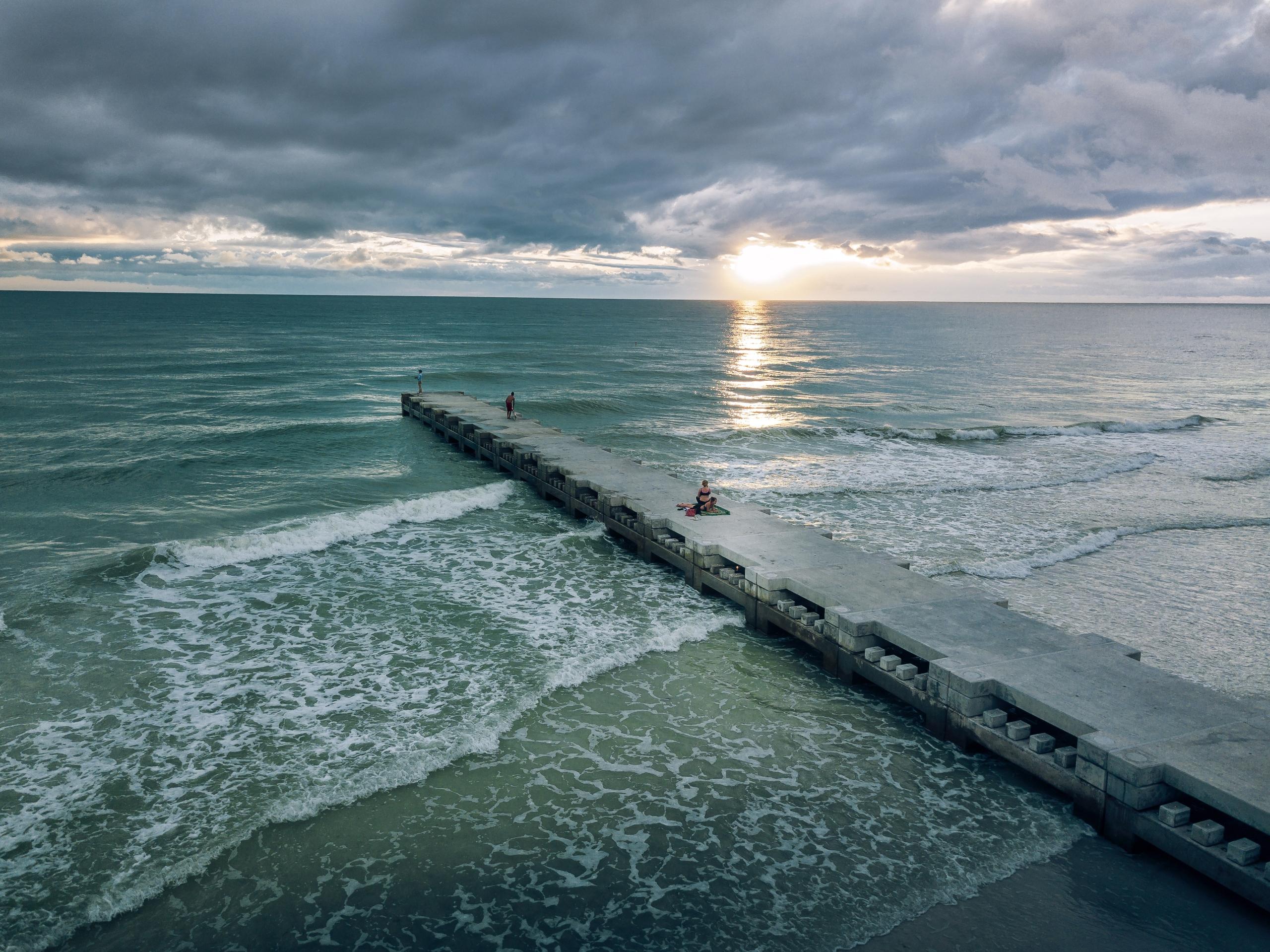 Cloud Cover leave blog - beach, BradentonBeach - rickschwartz | ello