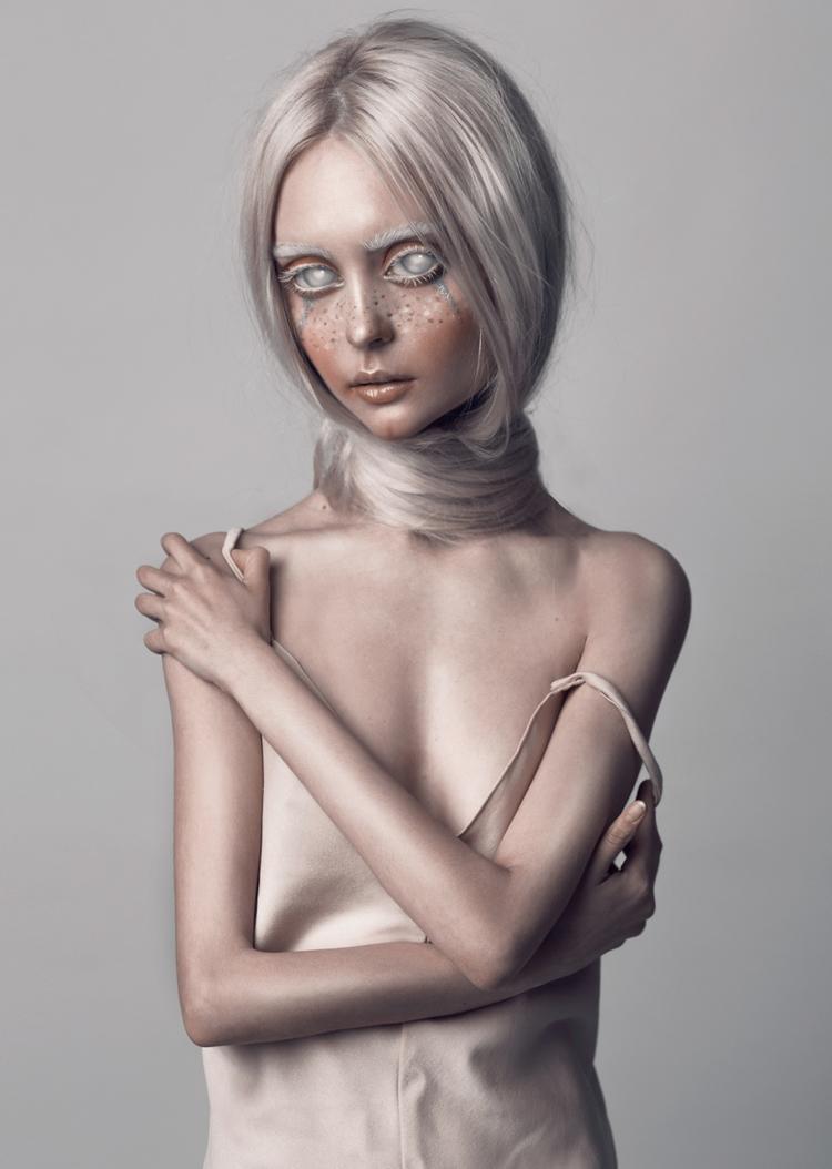"Aliens"" series — Photographer: - darkbeautymag | ello"
