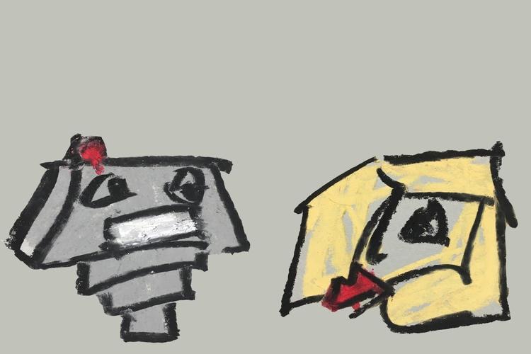 ROBOT GIRL, II - art, drawing, design - jkalamarz | ello