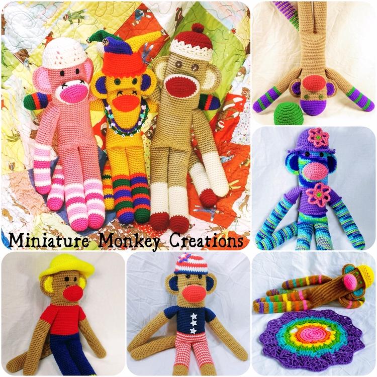 Happy monkeys happy eclipse day - miniaturemonkeycreations | ello