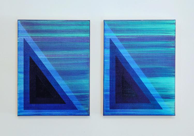 Somnia Oil 9x12 canvas (pair) 2 - gaebcardinale | ello