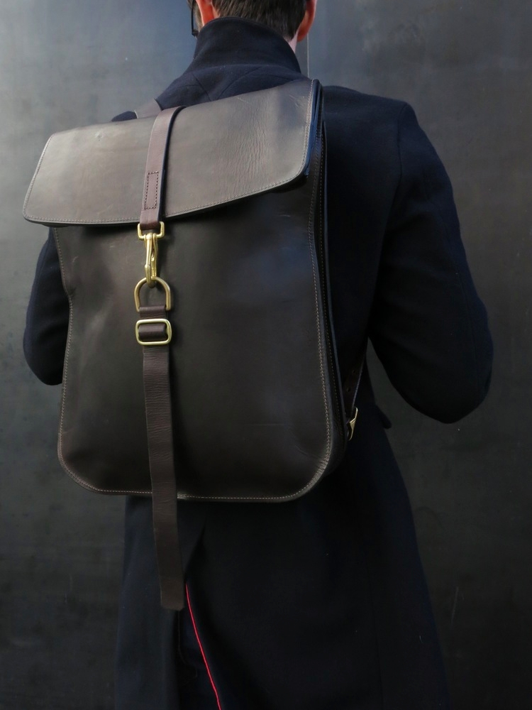 Premium Leather Backpacks Brace - join_revel | ello