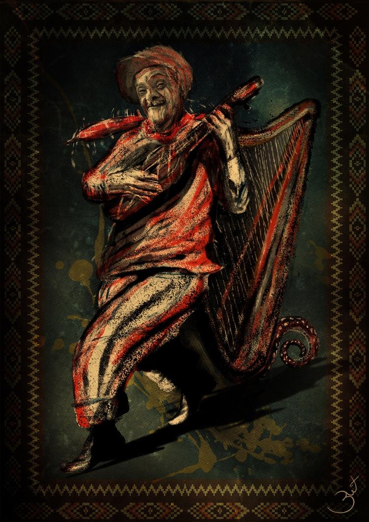 Jarocho Character Mexican imagi - lalohuesca | ello