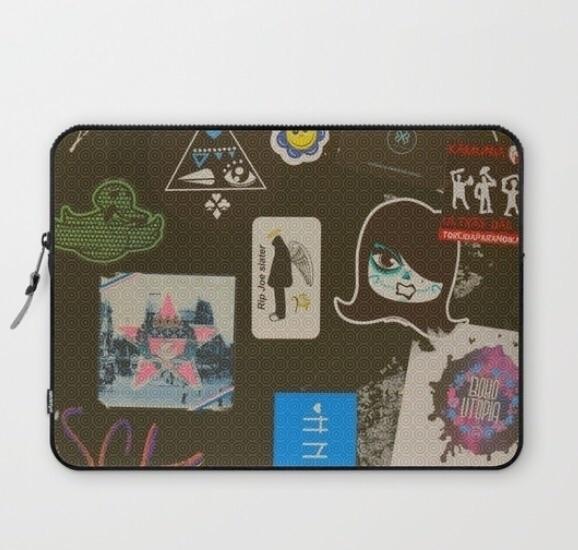 Street art style laptop sleeve - trinkl | ello