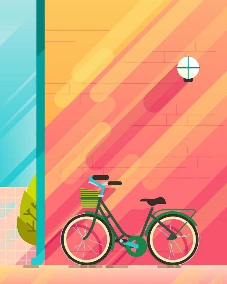 illustration, vectorart, copenhagen - bentheillustrator | ello