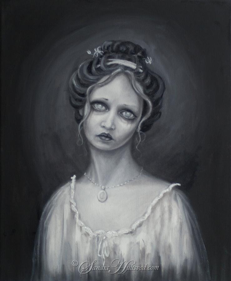 Belladonna Oils canvas, 2017.  - sandrahultsved | ello