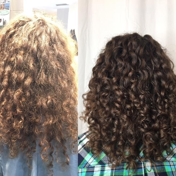 Dry cut curly hair... love maki - studiokara | ello