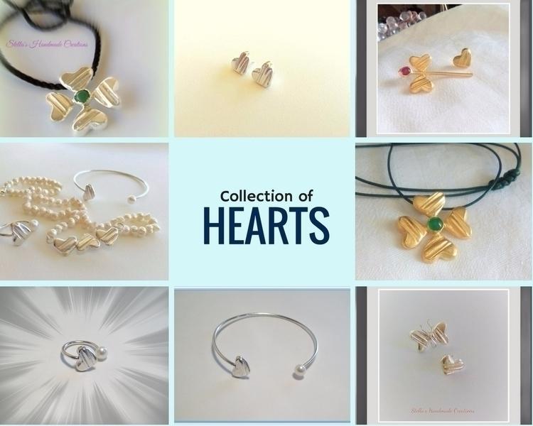Handmade hearts collection!!!!  - stellasjewelryart | ello