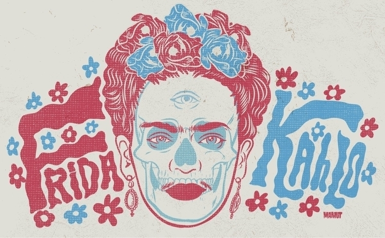 frida, illustration - mamut_creative | ello
