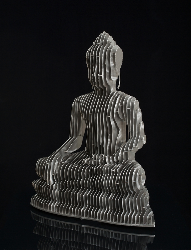 Julian Voss-Andreae - buddha, sculpture - sophiegunnol | ello