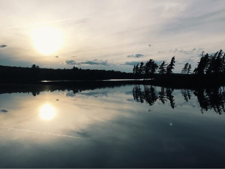 Campsite view. (6/4/16 - algonquin - dereknicholson | ello